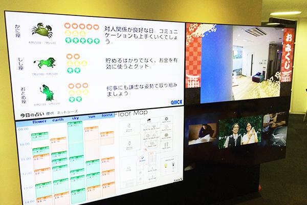 デジタルサイネージ サイネージリレーション サイネージ オフィス
