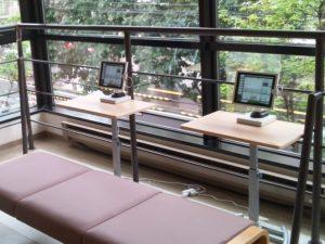 デジタルサイネージ PR 事例 情報発信 病院