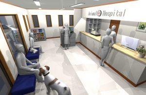 デジタルサイネージ 使用例 集客 動物病院 ペットフード